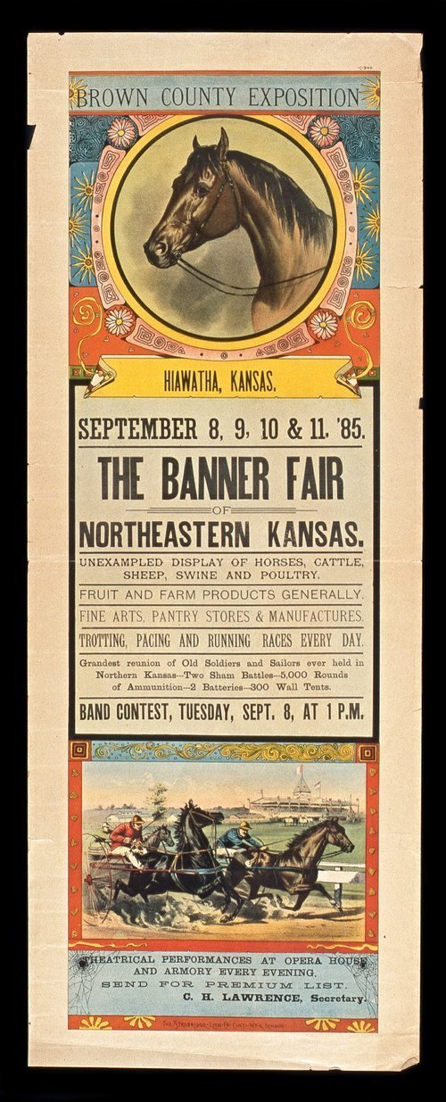 The Banner Fair, Northeastern Kansas, September 8-11, 1885 - Page