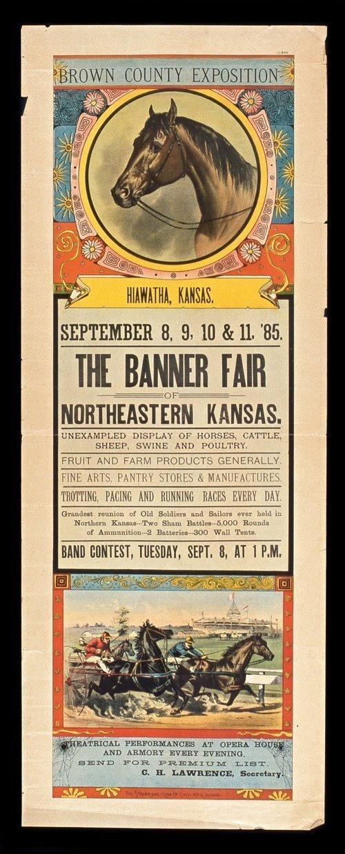 The Banner Fair, Northeastern Kansas, September 8-11, 1885 - Page