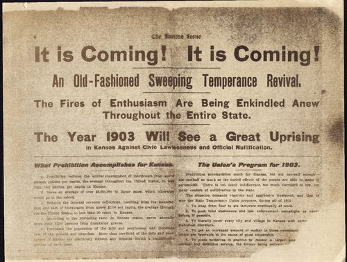 It is coming!  It is coming!  An old-fashioned sweeping temerance revival - Page