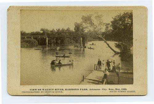 Walnut River, Harmon Park, Arkansas City, Kansas - Page