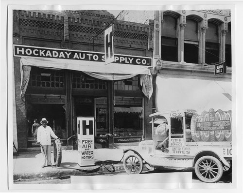 Hockaday Auto Supply Company and Service Station, Arkansas City, Kansas - Page