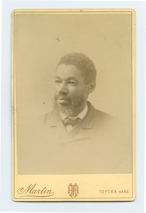 Portrait of Alfred Fairfax, between 1889 and 1890