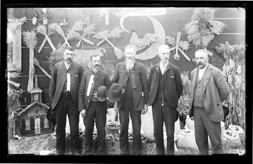 Unidentified men, fair, Finney County - Page