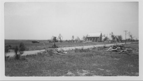 Tornado damage to the Philip DeDonder residence, Pottawatomie County, Kansas - Page