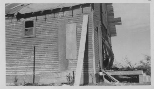 Tornado damage to the Philip DeDonder residence, Pottawatomie County, Kansas - Page