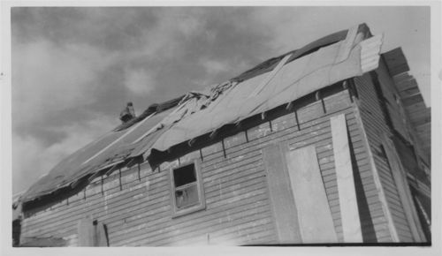 Tornado damage to the Philip DeDonder home, Pottawatomie County, Kansas - Page