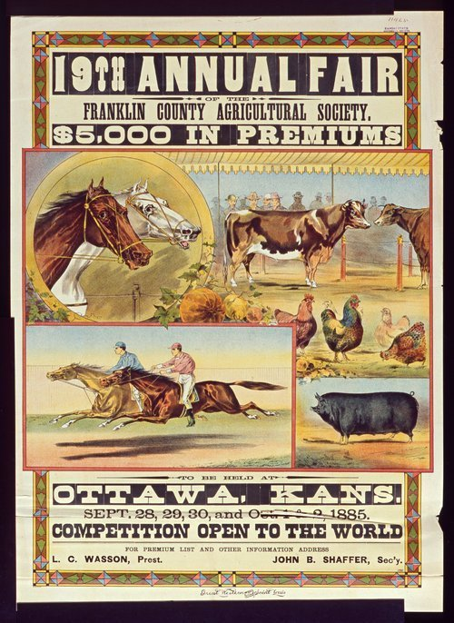 Nineteenth annual fair of the Franklin County Agricultural Society - Page