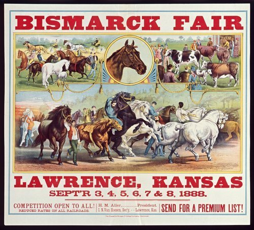 Bismarck fair, Lawrence, Kansas - Page