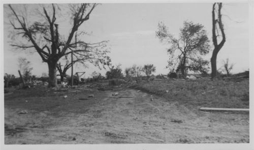 Tornado damage to the Vital DeDonder residence, Pottawatomie County, Kansas - Page