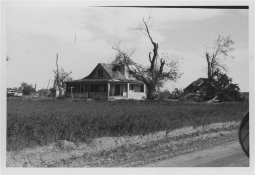 Tornado damage to the Jim & Eileen Pearl residence, Pottawatomie County, Kansas - Page