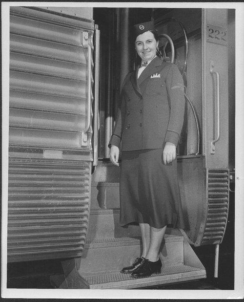 Delma Frasser, Atchison Topeka & Santa Fe courier nurse - Page