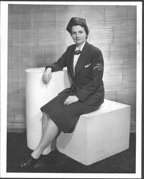 Delma Frasser, Atchison, Topeka, & Santa Fe, courier nurse - Page