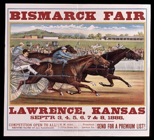 Bismark fair, Lawrence, Kansas - Page