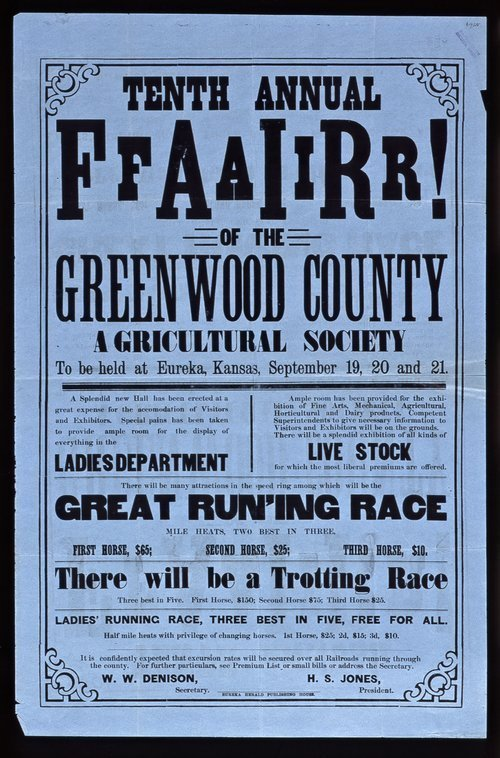 Tenth annual fair of the Greenwood County Agricultural Society - Page