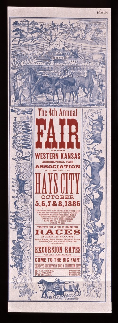 The fourth annual fair of the Western Kansas Agricultural Fair Association - Page