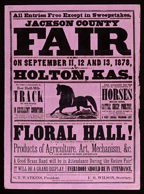 Jackson County fair, Holton, Kansas - Page