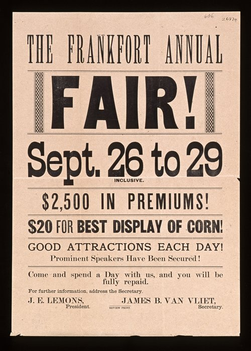 The Frankfort annual fair - Page