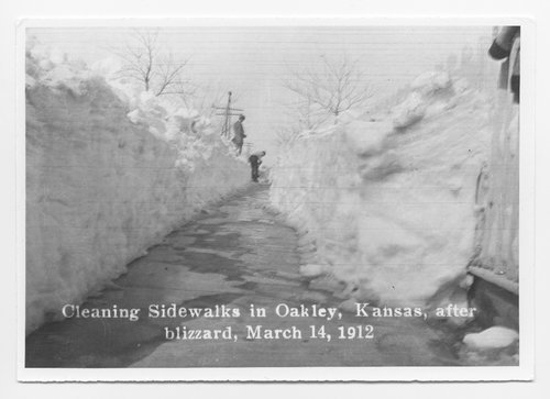 Blizzard in Oakley, Kansas - Page