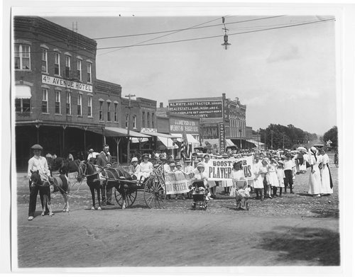 Children's parade, Garnett, Kansas - Page