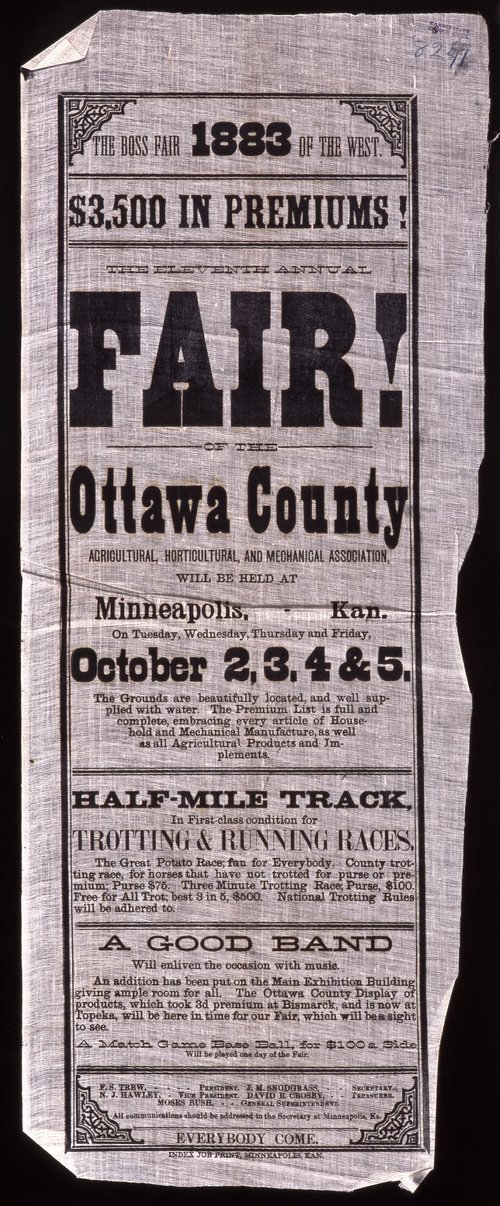The eleventh annual fair of the Ottawa County Agricultural, Horticultural, and Mechanical Association - Page