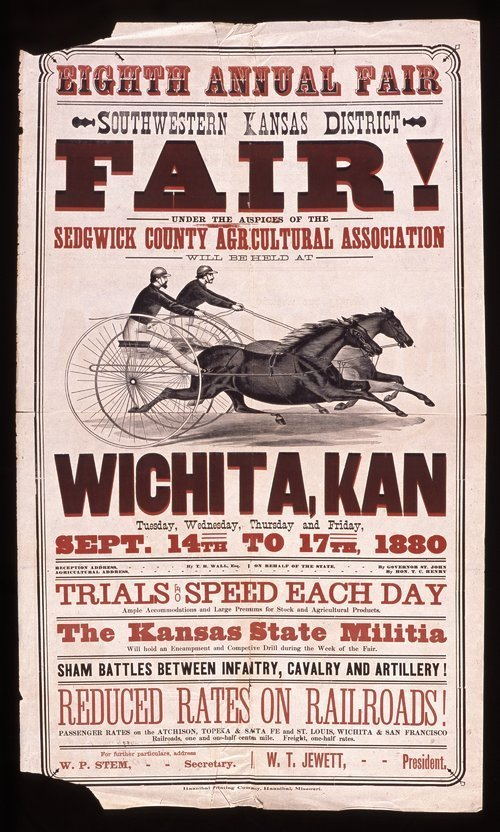 Eighth annual fair, southwestern Kansas district, Wichita, Kansas - Page