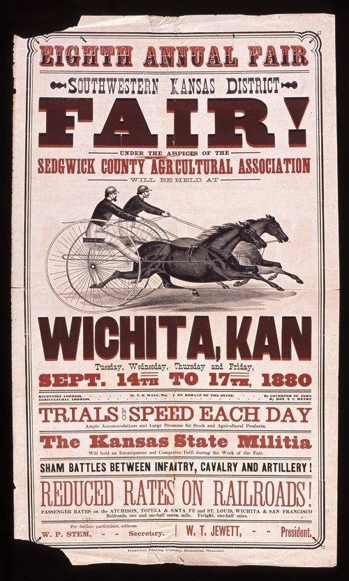 Eighth annual fair, southwestern Kansas district, Wichita, Kansas - Page
