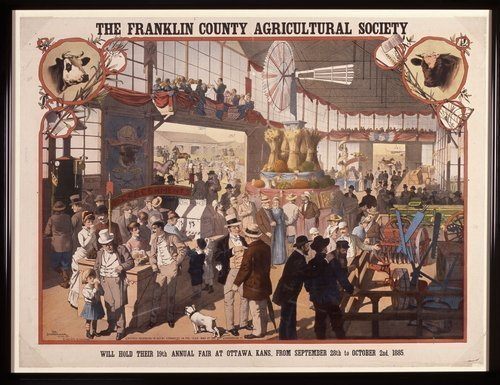 The nineteenth annual fair at Ottawa, Kansas - Page