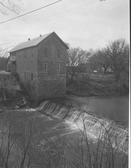 Cedar Point Mill and Dam, Cedar Point, Kansas - Page