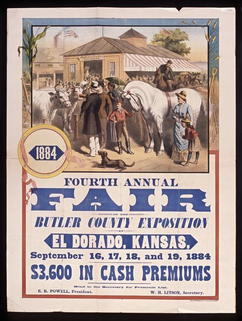 Fourth annual fair of the Butler County Exposition - Page