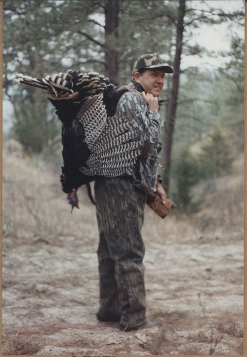 John Michael (Mike) Hayden hunting turkey - Page