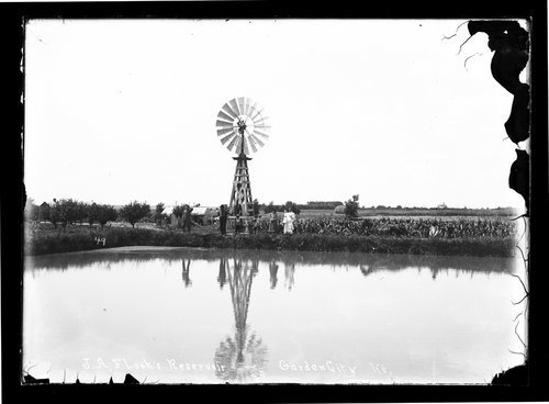 J. A. Flook's reservoir, Garden City, Finney County, Kansas - Page