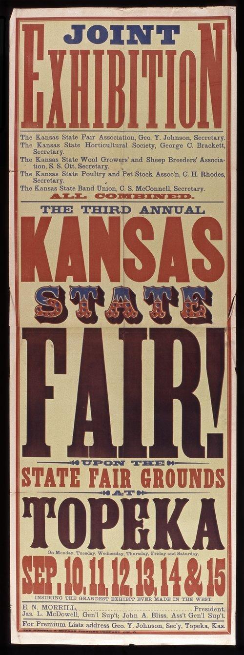 Kansas State Fair poster - Page