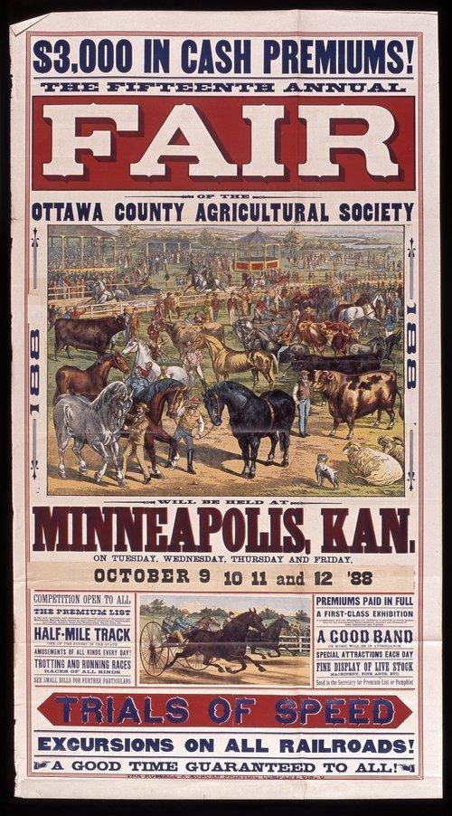 Ottawa County fair, Minneapolis, Kansas - Page
