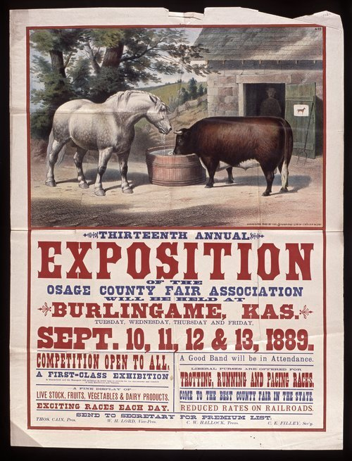 Thirteenth annual exposition of the Osage County Fair Association - Page