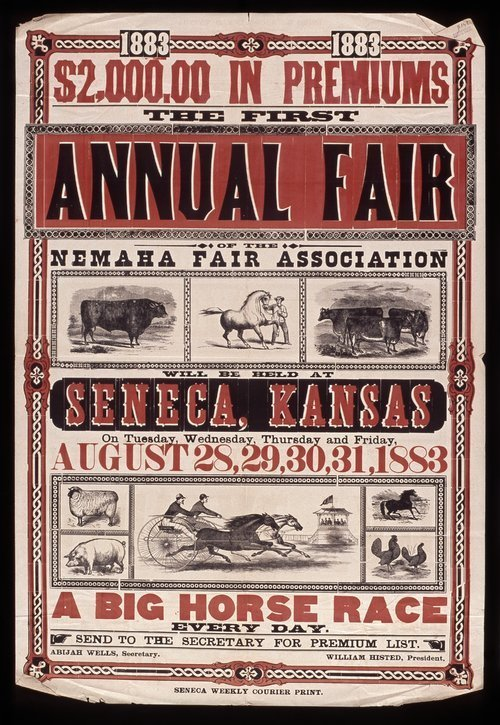 The first annual fair of the Nemaha Fair Association - Page