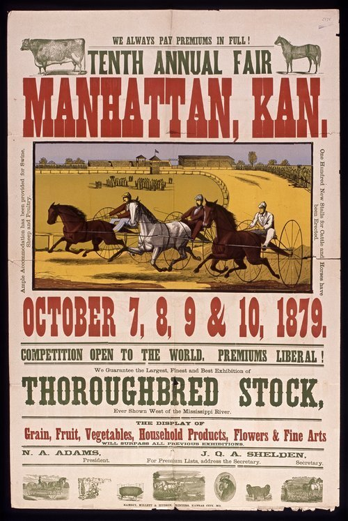 Tenth annual fair, Manhattan, Kansas - Page