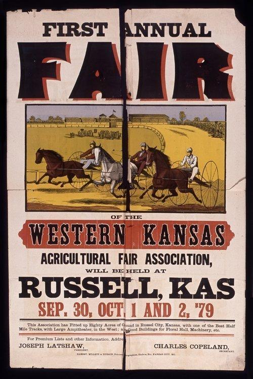 First annual fair of the Western Kansas Agricultural Fair Association - Page