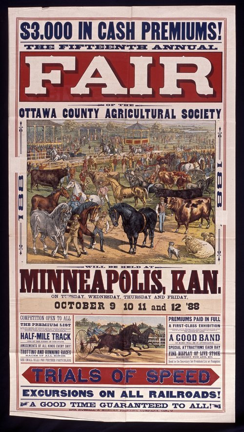 The fifteenth annual fair of the Ottawa County Agricultural Society - Page