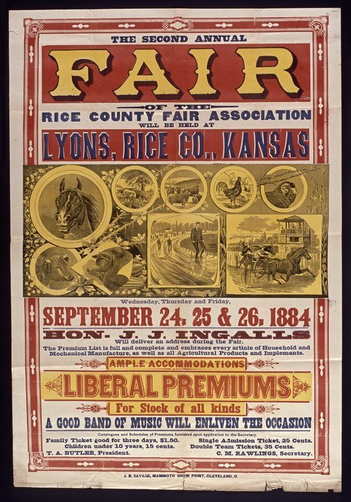 The second annual fair of the Rice County Fair Association - Page