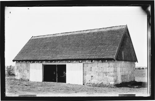 Hay barn, Garden City, Finney County, Kansas - Page