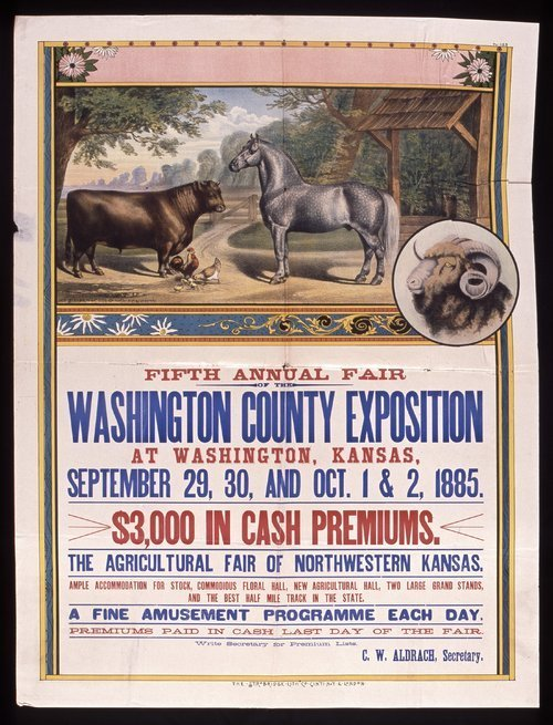 Fifth annual fair of the Washington County Exposition - Page