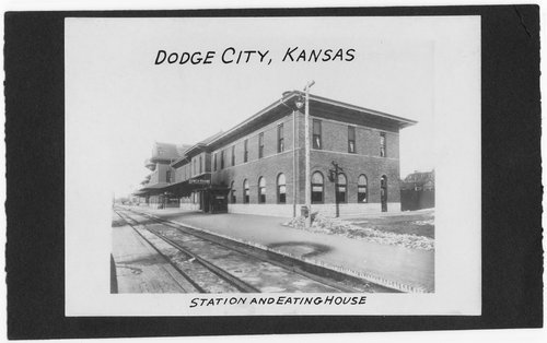 Atchison, Topeka & Santa Fe Railway Company depot and Fred Harvey House, Dodge City, Kansas - Page