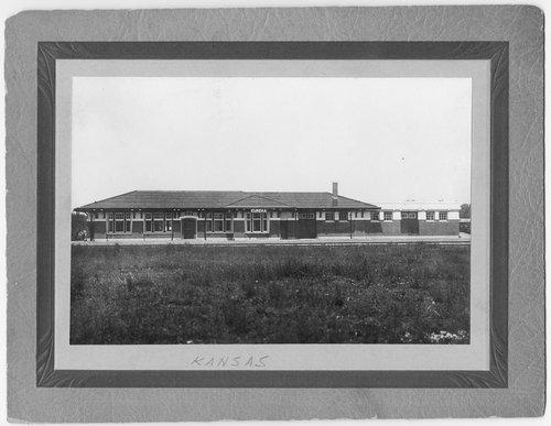 Atchison, Topeka and Santa Fe Railway Company depot, Eureka, Kansas - Page