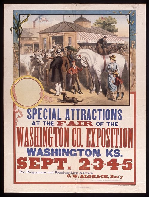 Special attractions at the fair of the Washington County exposition - Page