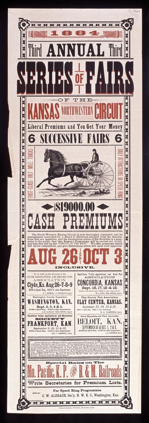 Third annual series of fairs of the northwestern Kansas circuit - Page
