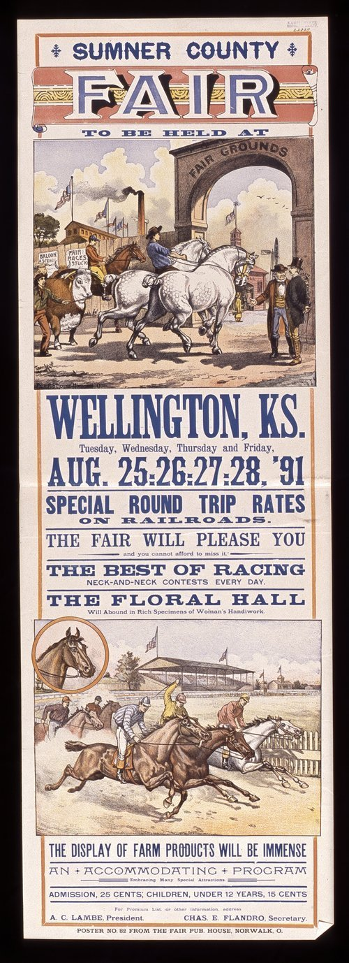 Sumner County fair to be held at Wellington, Kansas - Page