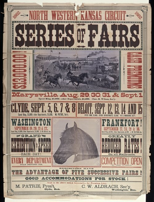 North western Kansas circuit, series of fairs - Page