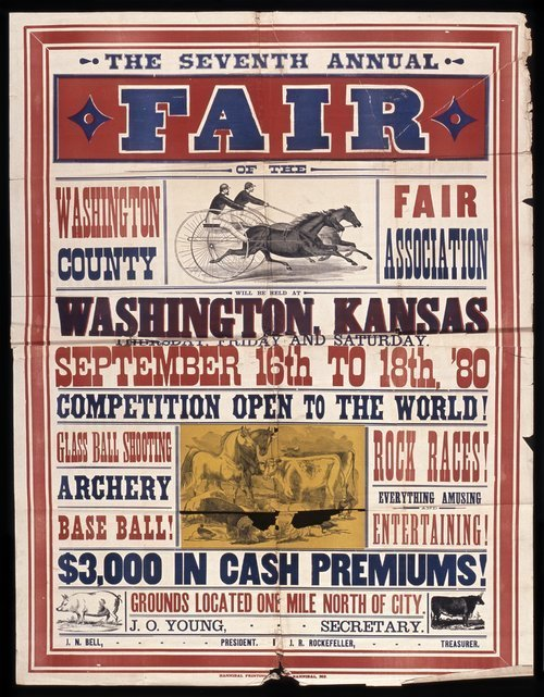 Seventh annual fair of the Washington County Fair Association - Page