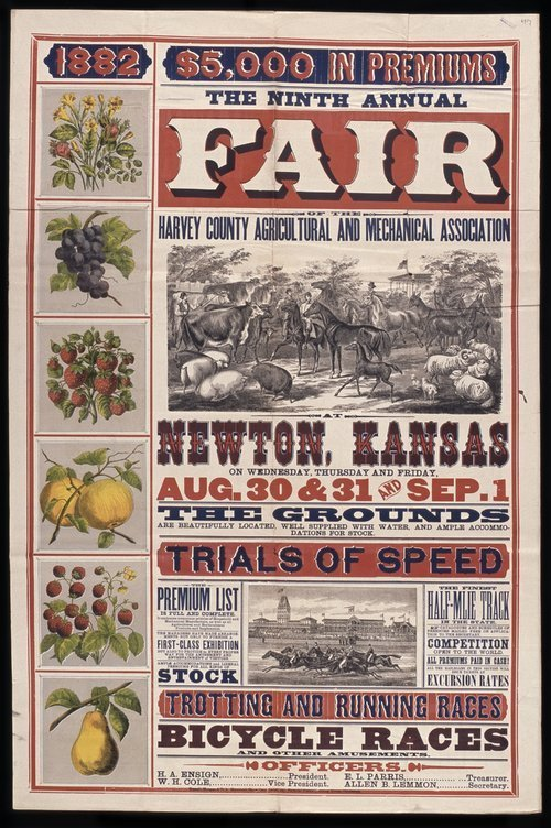 The ninth annual fair of the Harvey County Agricultural and Mechanical Association - Page