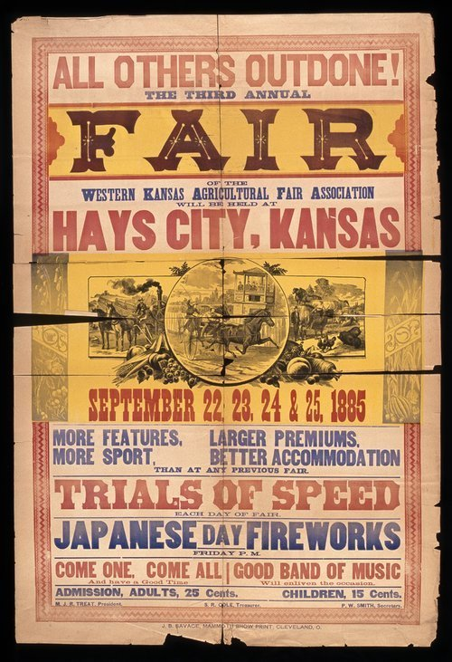 The third annual fair of the Western Kansas Agricultural Fair Association - Page